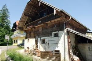 Heuholzmühle, Salzburg, Renovierungsarbeit