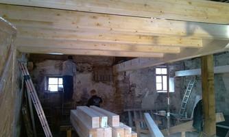 Renovierung Gästehaus, Elixhausen, Heuholzmühle