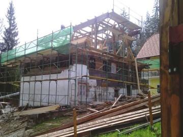 Dachstuhl Renovierung, Heuholzmühle, Elixhausen